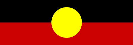Image description: Aboriginal flag